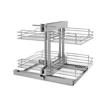 Rev-A-Shelf 5PSP-15 5PSP 2 Tier Pull Out Base Cabinet Wire Basket Organizer