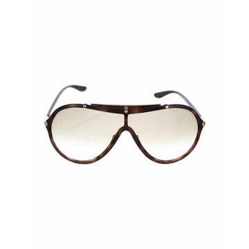 Ace Shield Sunglasses Brown