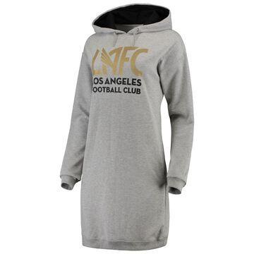 LAFC ZooZatz Women's Focus Sweatshirt Dress - Heathered Gray