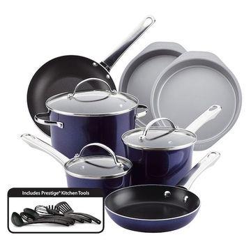 Farberware Luminescence 16-pc. Nonstick Cookware Set