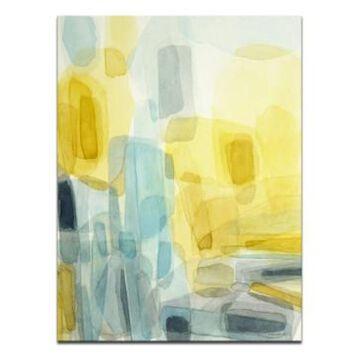 "Ready2HangArt 'Sun and Rain' Abstract Canvas Wall Art, 30x20"""