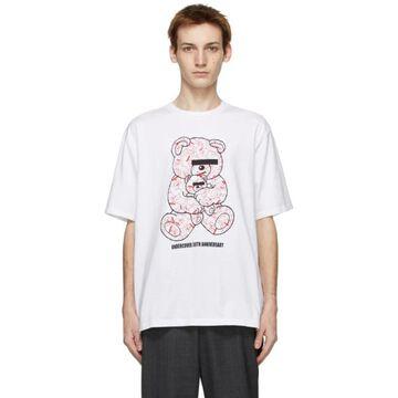 Undercover White U Bear Bear 30th Anniversary T-Shirt