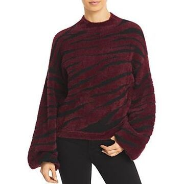 Bardot Zebra Knit Sweater