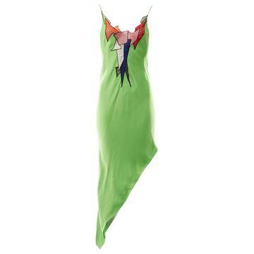 Christopher Kane Green Viscose Dresses
