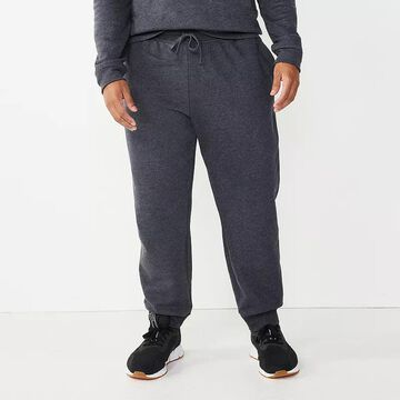 Big & Tall Tek Gear Ultra Soft Fleece Joggers, Men's, Size: Large Tall, Black
