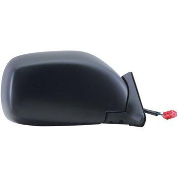 60099C - Fit System Passenger Side Mirror for 97-01 Jeep Cherokee, black, foldaway, Power