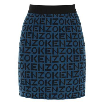 Kenzo kenzo sport monogram mini skirt