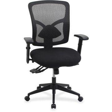 Lorell Management Chair, Black