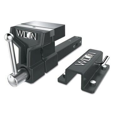 Wilton ATV All-Terrain Vise, 6 in Jaw, 5 in Throat, Stationary Base