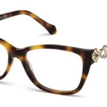 Roberto Cavalli RC 5060 052 Womenas Glasses Tortoise Size 53 - Free Lenses - HSA/FSA Insurance - Blue Light Block Available