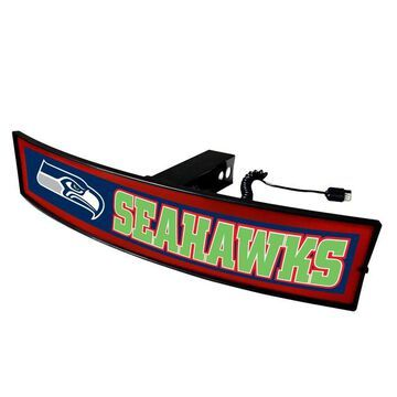 FANMATS Seattle Seahawks Light Up Trailer Hitch Cover