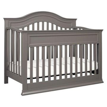 DaVinci Brook 4-in-1 Convertible Crib with Toddler Bed Conversion Kit in Slate