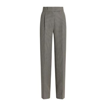 Alexander Wang High-Rise Check Trousers