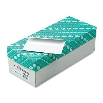 Quality Park Greeting Card/Invitation Envelope Contemporary #5 1/2 White 500/Box