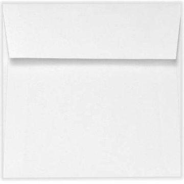 5 3/4 x 5 3/4 Square Envelopes - White Linen (1000 Qty.)