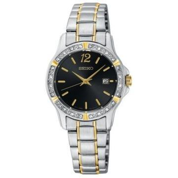 Seiko Women's Two-Tone Stainless Steel Bracelet Watch 28mm