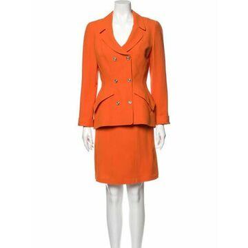 Vintage Skirt Suit Skirt Suit Orange
