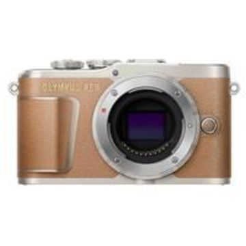 Olympus PEN E-PL9 16.1MP Mirrorless Camera Body, Honey Brown