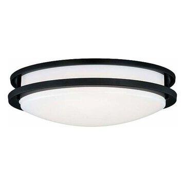 Vaxcel Lighting C0107 Horizon 1 Light LED Flush Mount Ceiling Light