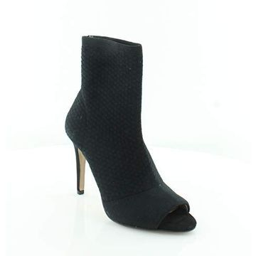 INC International Concepts Womens RIELEE Sock Ankle Boot Black
