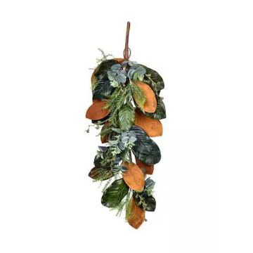 Vickerman Green Magnolia Leaf Swag -