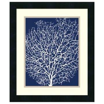 Amanti Art Navy Coral Ii Framed Art Print