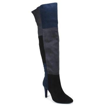 Rialto Womens CARPIO Leather Closed Toe Knee High Fashion Boots