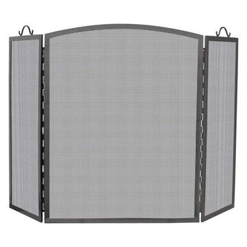 Uniflame 3-Panel Olde World Iron Arch Top Screen, Large