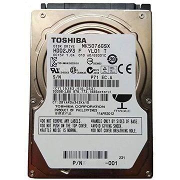 (Old Model) Toshiba 2.5-Inch 500GB 5400 RPM SATA2/SA