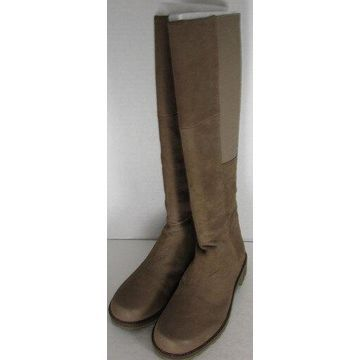Gentle Souls Womens 'Winfield' Leather Tall Stretch Boot
