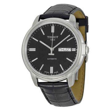 Tissot Automatic III Black Dial Mens Watch T0654301605100