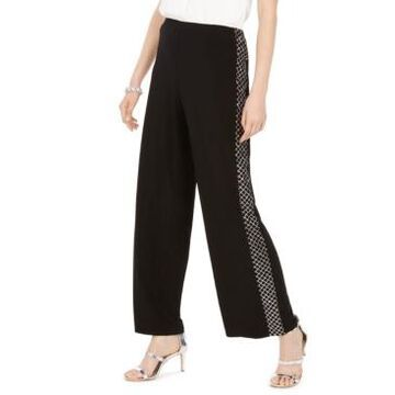 Msk Sparkle Mesh Tuxedo Pants