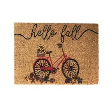 Elrene Hello Fall Bike Coir Doormat
