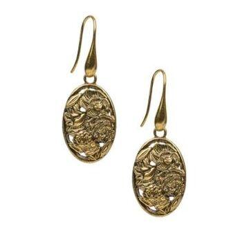 Patricia Nash Medallions Women's Earrings