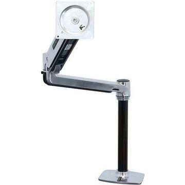 Ergotron Mounting Arm for Flat Panel Display - Polished Aluminum - 46