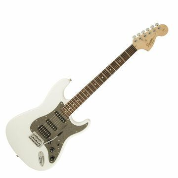 Squier Affinity Series Stratocaster HSS - Olympic White w/ Laurel FB