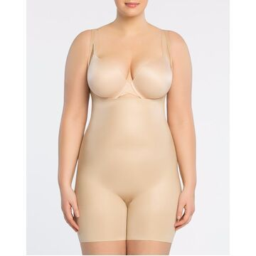 SPANX Power Conceal-Her Open-Bust Mid-Thigh Bodysuit