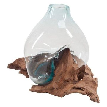 Dimond Home Driftwood Glass Bottle