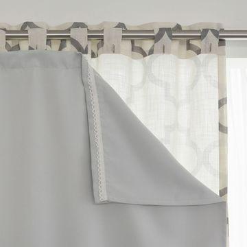Aurora Home Blackout Curtain Liner Panel Pair
