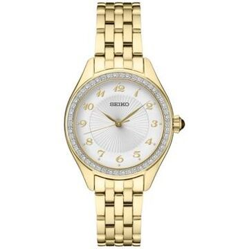 Seiko Women's Gold-Tone Bracelet Watch 29mm