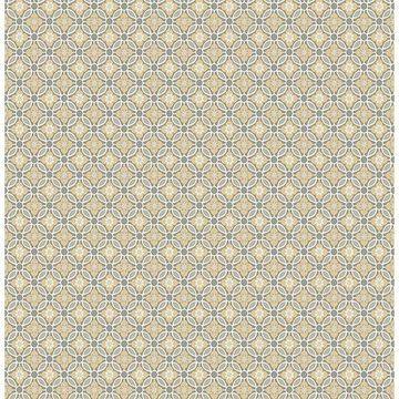 Brewster 2657-22247 Audra Mustard Floral Wallpaper