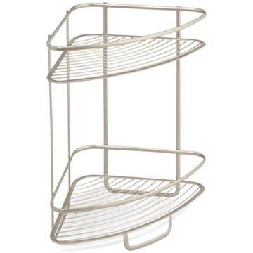 Interdesign Axis Two Tier Shower Shelf Bedding