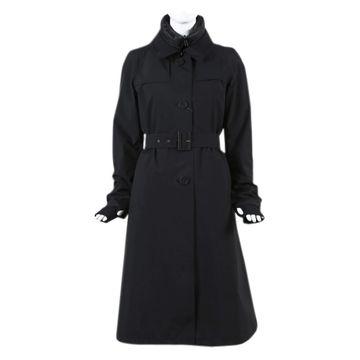 Herno Black Polyester Coats