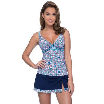 Profile by Gottex Tangier Tankini Top (D Cup)