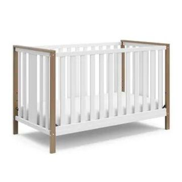 Storkcraft Modern Pacific 4-in-1 Convertible Crib (Vintage Driftwood)