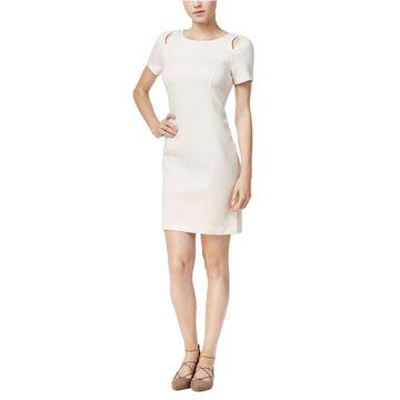 Kensie Womens Cutout Sheath Dress