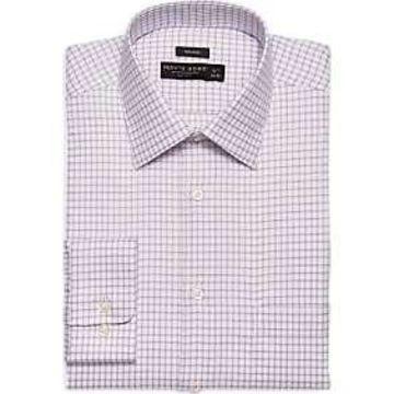 Pronto Uomo Lavender Check Dress Shirt