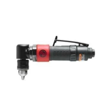 Chicago Pneumatic 8941008790 Angle Reversible 3/8 In Key Drill