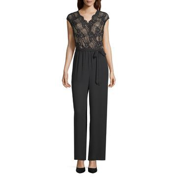 Worthington Lace Top Jumpsuit