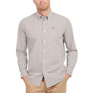 Barbour Men's Tunbridge Tailored-Fit Gingham Check Shirt